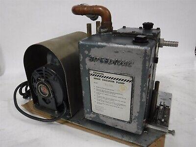 Used Edwards Es 330 Speedivac High Vacuum Pump Ge Motor B
