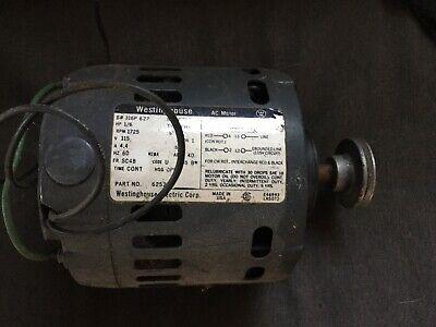 Westinghouse Ac Motor 625276 16hp 115v 4.4a Single Phase