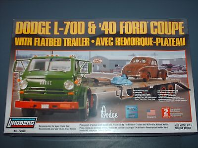 Dodge L700 semi with 40 Ford Coupe