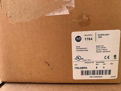 New Sealed Allen Bradley 1764-24bwa Ser B Micrologix 1500 24 Point Controller