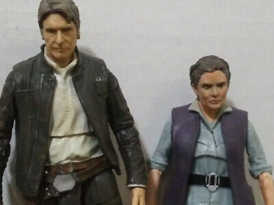 Star Wars Black Series Han and Leia Repaints](Leia And Han)