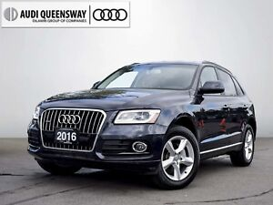2016 Audi Q5 2.0T Komfort, New Tires, No Accidents, Low Kms!