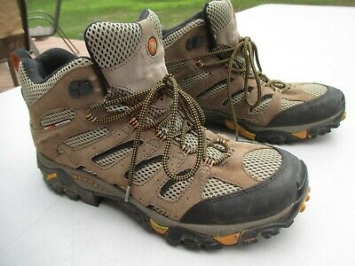 "Men's ""Merrell Walnut Performance Footwear Hiking Boots"" Size 13 / Very Nice"