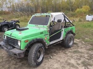 1986 Suzuki samurai 4x4 hunting/mudding machine