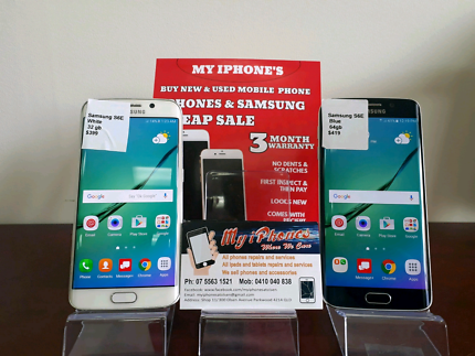 Samsung Galaxy S6 edge 32 & 64 gb with 3 month warranty  Parkwood Gold Coast City Preview