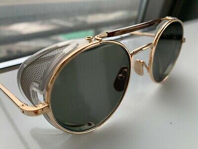Thom Browne TB 001 BT Shiny 12k New York Sonnenbrille NEUWERTIG