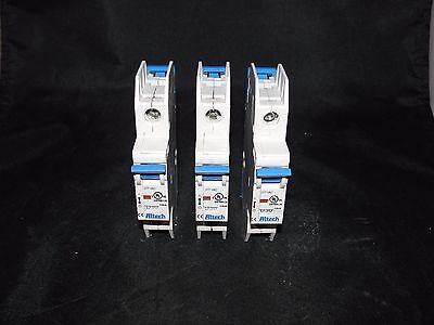 Altech Ul489 1 Pole Circuit Breaker Lot Of 3