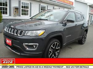 2017 Jeep Compass We finance 0 money down & cash back* LIMITED