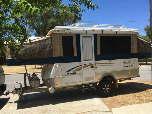 Luxury 2008 JAYCO SWAN OUTBACK 14ft In Canning Vale WA  Autotradercomau