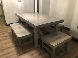 Homemade tables for sale