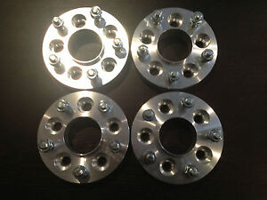 Holden-TORANA-LH-to-COMMODORE-VE-Wheel-Aluminium-Spacer-Adaptor-25mm-Set-of-4