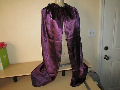 ed7af728852 AMNPOLEN Adult Men Satin American Flag Boxing Costume Robe Cloak with Hood  Men