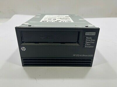 EH963A- HPE StoreEver LTO-6 Ultrium 6650 SAS Internal Tape Drive