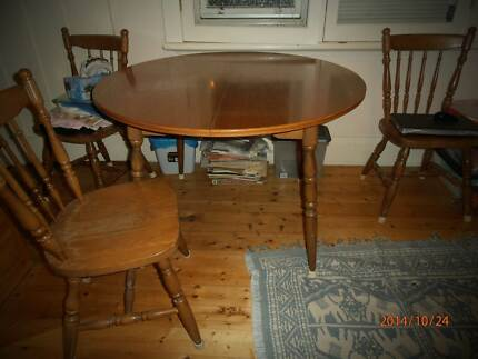 dining table and chairs Tempe Marrickville Area Preview