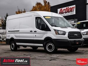 2018 Ford Transit Mid roof 148. loaded.with safety partition