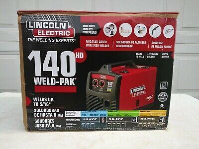Lincoln Electric 140 Hd Weld-pak Wire-feed Welder K2514-1 Open Box