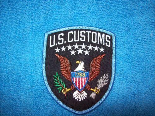 US Customs Inspectors Patch - Obsolete