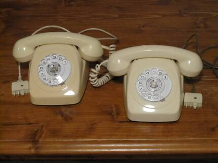 Two Rotary Dial Phones (2 for 1)