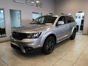 DODGE JOURNEY CROSSROAD 2018 + NAV + DVD + 7 PASSAGERS + CLIMATI