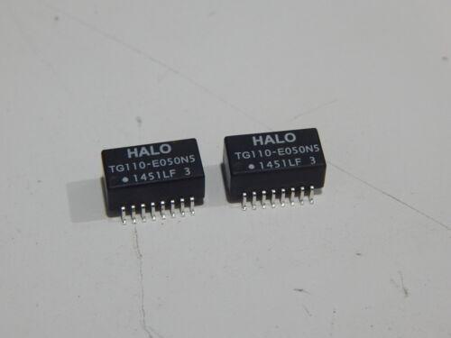 PB FREE TG110-E050N5RL Halo 10/100 Ethernet - LOT OF 2 TRANDFORMERS - FAST SHIP