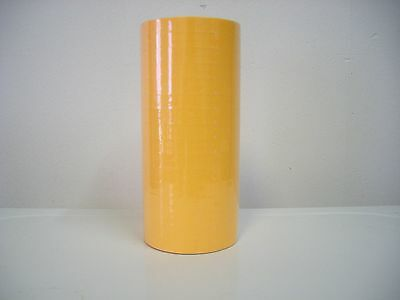 20000 Labels For The Monarch 1131 1 Sleeve Fl. Orange One Ink Roller.