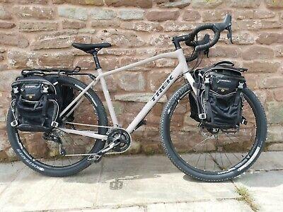 Trek 920 Adventure / Gravel / Cyclocross / Off Road Touring Bike + Panniers 58cm