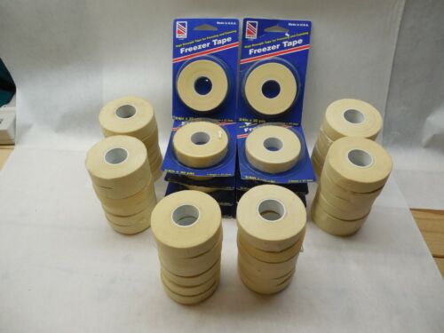 United Freezer Tape Butcher Low Temperature Temp Freezing Canning Lot 46 Rolls