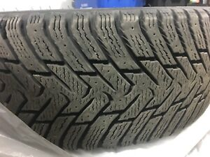 Hakkapeliitta winter tires and rims 225/45 R17