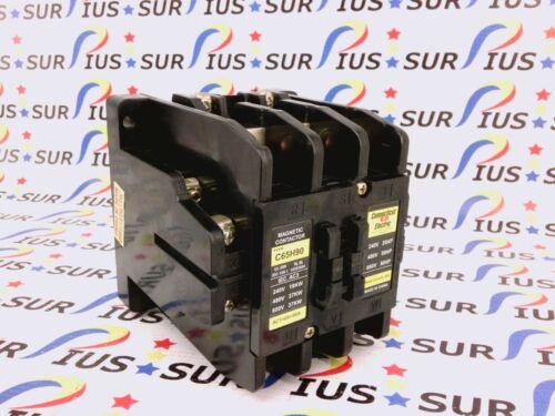 NSSP Connecticut Electric C65H90 Magnetic Contactor 80A Togami PAK Mitsubishi