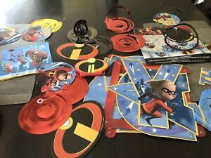 Incredibles Party Decorations