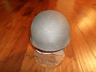 WWII BRITISH MILITARY MOTORCYCLE DISPATCH HELMET 1945 BMB SIZE 7 ORIGINAL