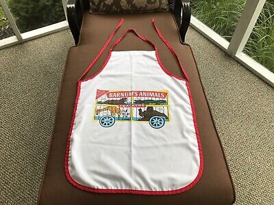 RARE Vintage Nabisco Barnum's Animal Crackers cotton Blend Advertising APRON