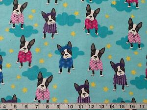 Boston Terrier Fabric Ebay