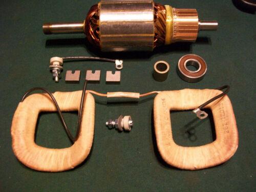 John Deere B BO BR Delco 12 Volt Generator Field Coil Set Armature Rebuild Kit