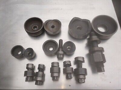 Greenlee Knockout Punch Die Set 2 3  4 Conduit Plus Other Misc Sets