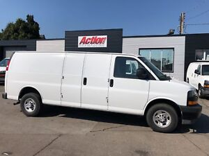 2018 GMC Savana 2500 4.3LV6 extended cargo! fuel efficient