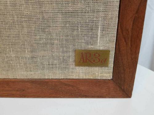 Acoustic Research AR-3a SPEAKERS #71702