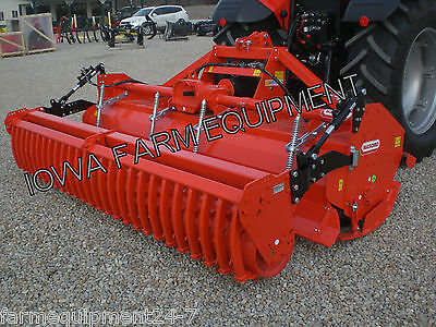 Rotary Tiller With Cultipacker Roller H-duty Maschio Sc300 123 170hp Gearbox