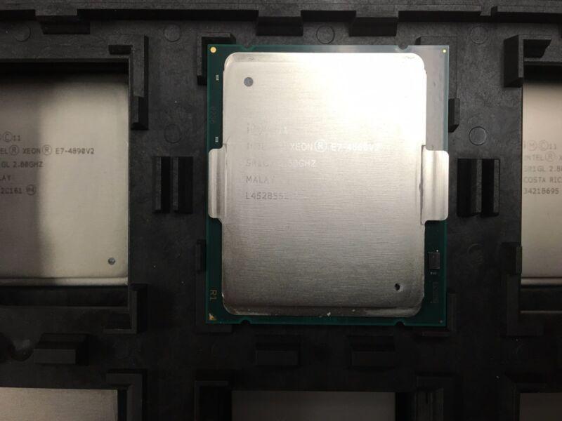 Intel Xeon E7-8891v4 2.8ghz 10cores 60mb 9.6gt/s Fclga2011 Processor Sr2sq  **