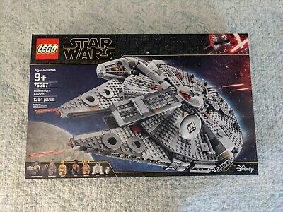 NEW LEGO Millennium Falcon Star Wars TM (75257) Unopened, with 7 LEGO Figures