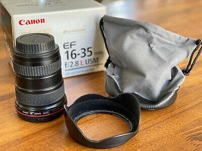 Canon EF16-35mm F/2.8L USM - Excellent Condition