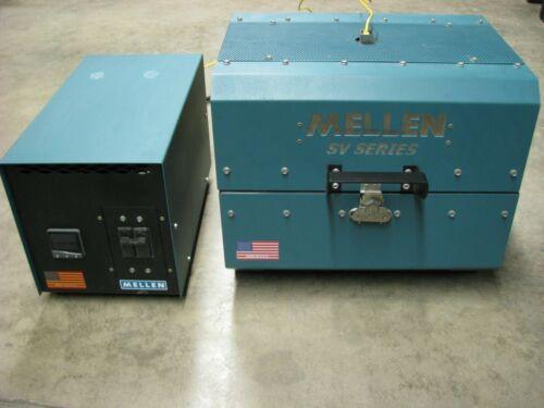 Split Tube Furnace 220 volt 1-phase MELLEN SV11-3.25X12-1Z