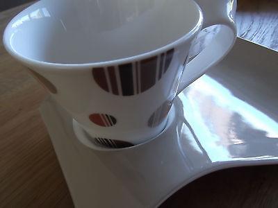 Villeroy&Boch New Wave - Kaffeetasse und Unterteller - selten