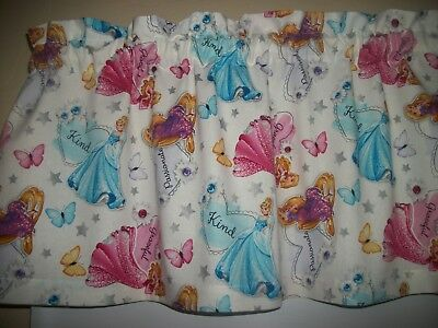 Princess Sayings disney cartoon fabric window curtain topper - Disney Princess Window Valance