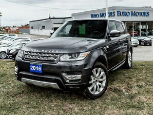 2016 Land Rover Range Rover Sport HSE Td6 | Diesel | Pano | Rear-Seat Entertainment