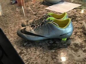 Custom Nike Mercurial soccer cleats