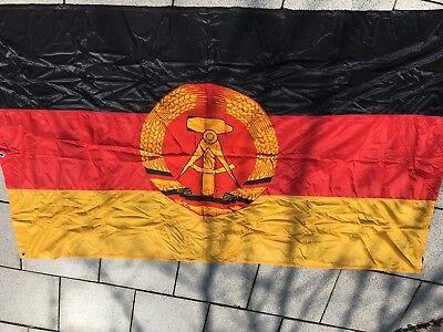 DDR NVA 100% ORIGINAL Dienstflagge  neuwertig um 1980 Fahne 120x200 cm Flagge