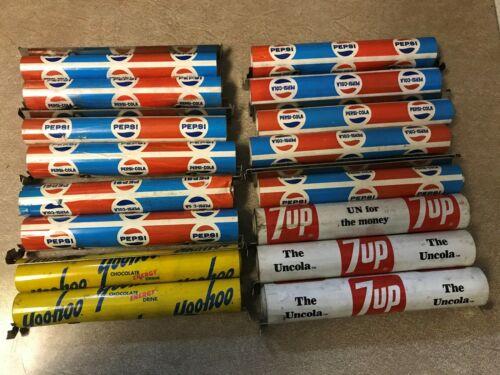 Pepsi, 7Up and Yoo-Hoo Vintage Shelf Liners (16 pieces)