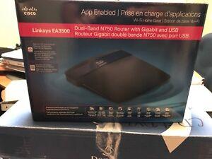 Routeur Gigabit double bande N750 Cisco