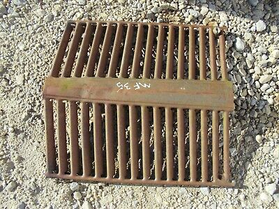 Massey Ferguson 35 Mf Tractor Original Front Grill For Hood